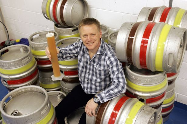 Alistair Lawrence, owner of Firebrick Brewery